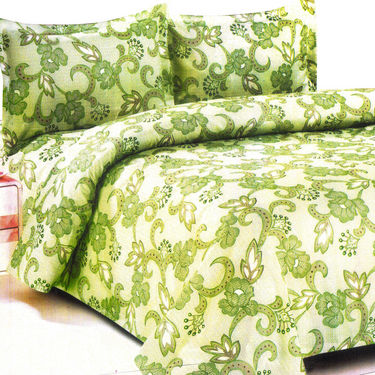 Vastu Shastra 6 Designer Double Bed Sheets with 12 Pillow Covers
