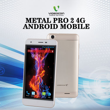 Videocon Metal Pro 2 4G Android Mobile