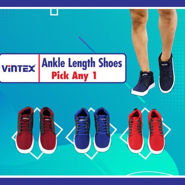 Vintex Ankle Length Shoes (CS11) - Pick Any 1