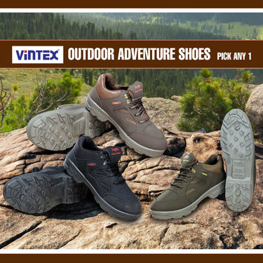 Vintex Outdoor Adventure Shoes - Pick Any 1 (AS2)
