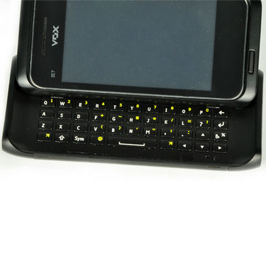 VOX IE7 Full TOUCH SCREEN Slider Mobile with QWERTY Keypad + Free Bluetooth - Black