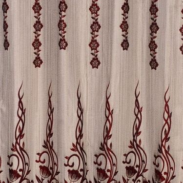 Set of 2 Printed Window curtain-5 feet-WBR_2_4023