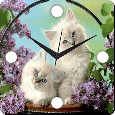 meSleep Cats Digital Printed Wall Clock-WC-S-01-034