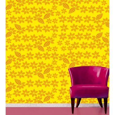 meSleep Floral Water Active Wall Paper 40 x 120 Inches-WPWA-03-25