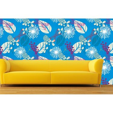 meSleep Floral Water Active Wall Paper 40 x 120 Inches-WPWA-03-45