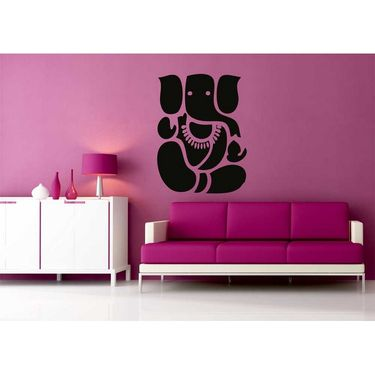 Ganesha Decorative Wall Sticker-WS-08-013
