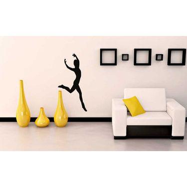 Dancing Men Decorative Wall Sticker-WS-08-026