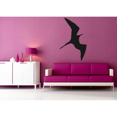 Black Bat Decorative Wall Sticker-WS-08-028