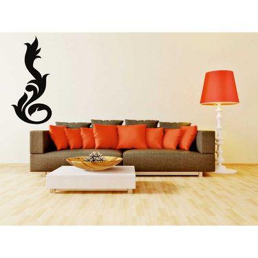 Black Decorative Wall Sticker-WS-08-062