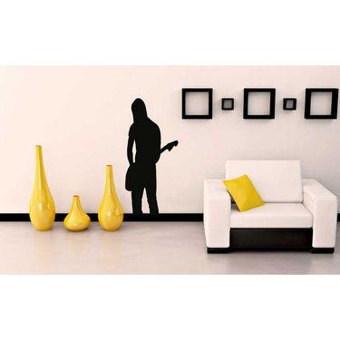Musician Black Wall Sticker-WS-08-097