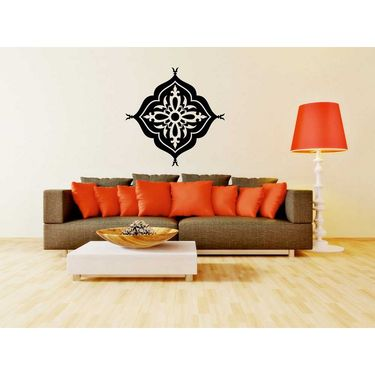 Rangoli Design Decorative Wall Sticker-WS-08-122