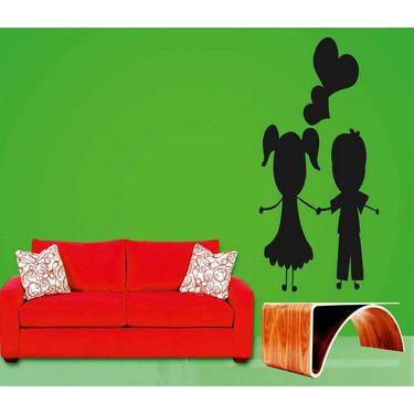 Baby Couple Decorative Wall Sticker-WS-08-126