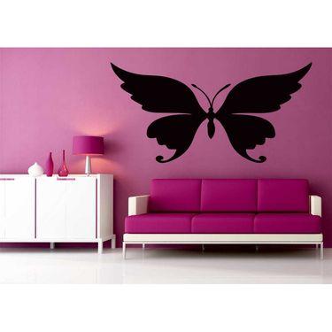 Black Butterfly Decorative Wall Sticker-WS-08-138