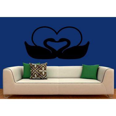 Beautifull Heart Decorative Wall Sticker-WS-08-167