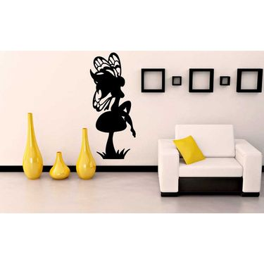 Butterfly Girl Decorative Wall Sticker-WS-08-212