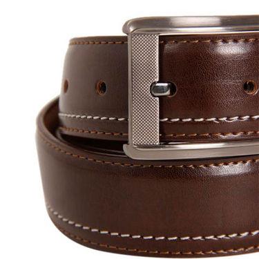 Walletsnbags Texas Leatherite Belt - Brown