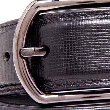 Walletsnbags Leather Belt - Black_B 50-BLK