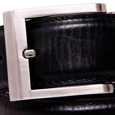 Walletsnbags Leather Belt - Black_B 51-BLK