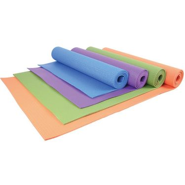 Welcare PVC Cushioned Yoga Mat - Pink
