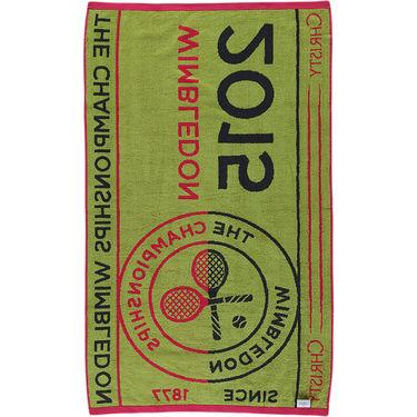 Wimbledon Ladies Championships Towel 2015 - Azzure & Berry