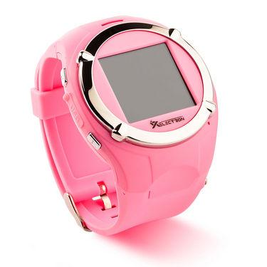 XElectron M998 Multimedia Watch cum Mobile - Pink