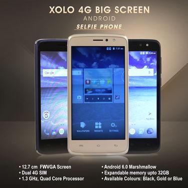 Xolo 4G Big Screen Android Selfie Phone