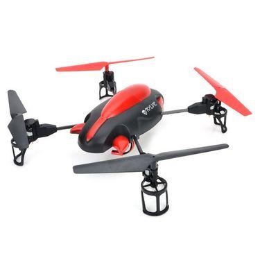 Skyline 4 Ch UFO Quadcopter with Camera - Red