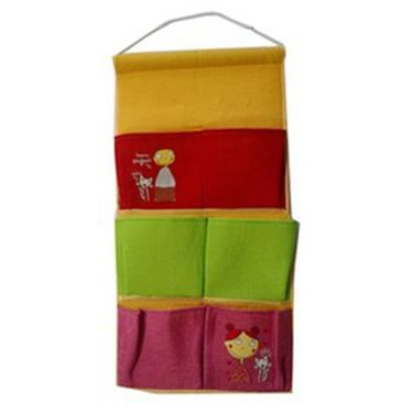 Combo of Valtellina Double Bedsheet + 2 Pillow Cover + 1 Bath Towel & 1 Hanging Bag_Ytd084
