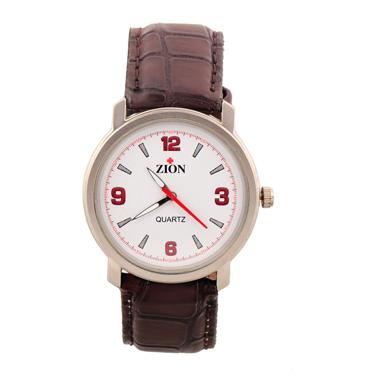 Combo of Zion Fashion 1 Wrist Watch + 1 Gents Wallet_ZW 383