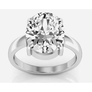 Kiara Jewellery Certified Zircon 3.0 cts & 3.25 Ratti Zircon Ring_Zirw