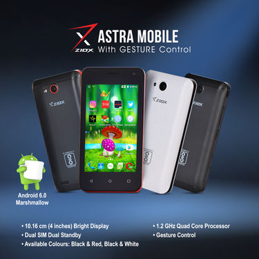 Ziox Astra Mobile with Gesture Control