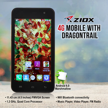 Ziox 4G Strongest Screen Ke Sath + 2 Free Gifts