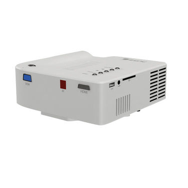 Zync P100 LED Corded Portable Projector with 56 Lumens - White