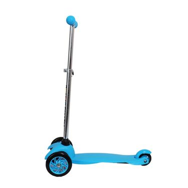 Kids 3-Wheel Twist Scooter - Blue