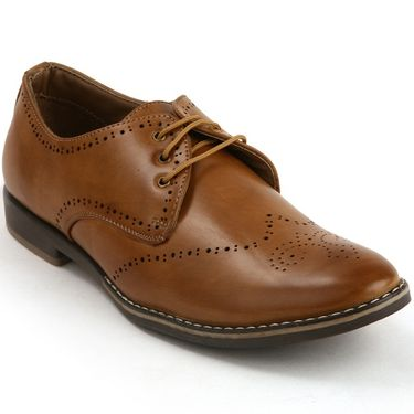 Bacca Bucci PU Tan Casual Shoes -Bbmb3050D
