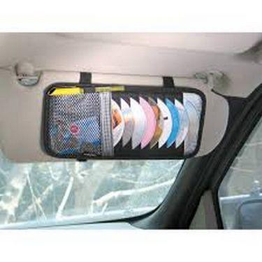 Combo of  Car accessories -Car Seat Beads + Dvd Visor + Mirror + MAT + Neckrest + Polish + Lights