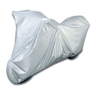 Bike Cover for TVS Victor - Silver