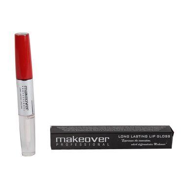 Makeover Professional Long Lasting Lip Gloss Brick Red