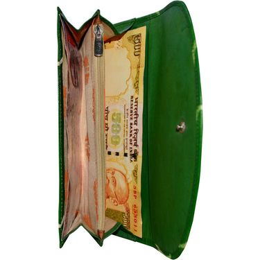 Arpera Green Ladies Wallet Ssa01