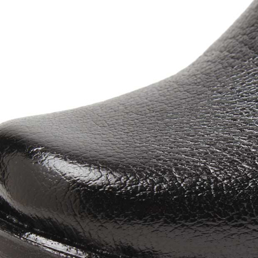 Foot n Style Faux Leather Formal Shoes  FS166 - Black