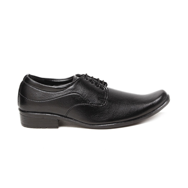 Foot n Style Faux Leather Formal Shoes  FS167 - Black