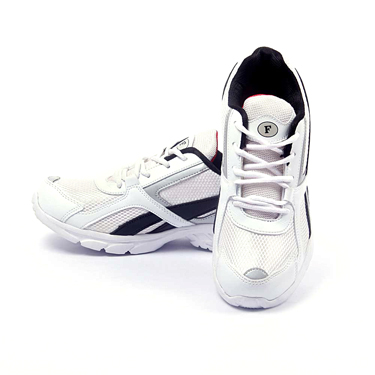 Foot n Style Synthetic  leather Sports Shoes  FS417 - White