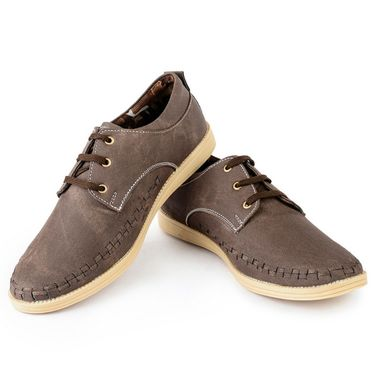 Foot n Style Canvas Grey Casual Shoes -fs3126