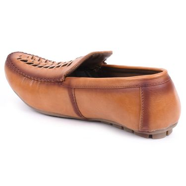 Foot n Style Tan Loafers Shoes -Fs3154