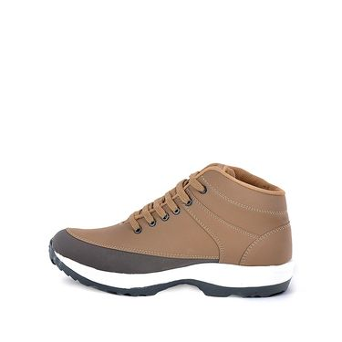 Foot n Style Canvas Casual Shoes FS 365 -Brown