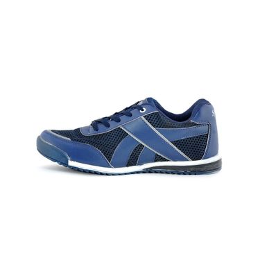 Foot n Style Synthetic Leather Sports Shoes FS 479 -Blue