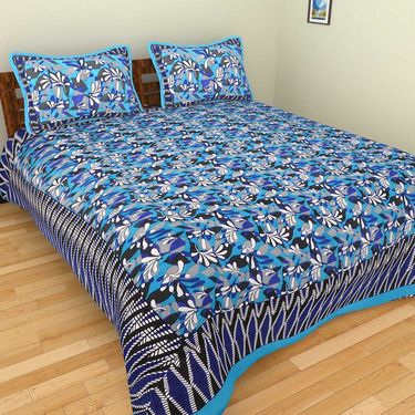 Set of 10 Double BedSheets With 20 Pillow Covers-grj-db-10-6