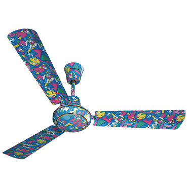 Havells Candy 1200 mm Special Finish Color Ceiling Fan - Funky Blue
