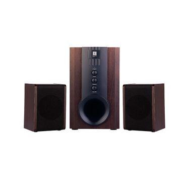 iBall Tarang 2.1 Channel Multimedia Speaker - Wooden