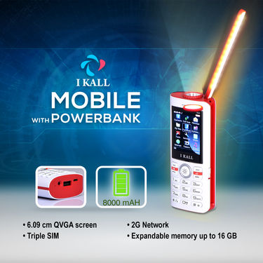 I Kall Mobile with Powerbank